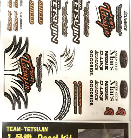 Tetsujin TT-7911 TETSUJIN Body Decal kit 1