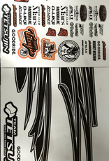 Tetsujin TT-7912 TETSUJIN Body Decal kit 2