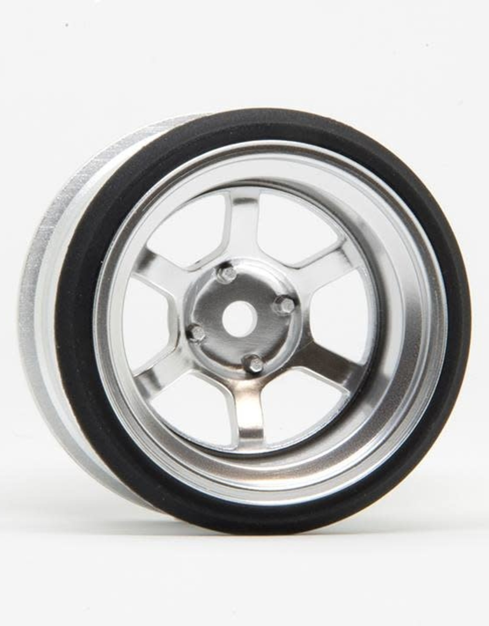 Scale Dynamics SCD10125 V16D 6 spoke offset 10mm Aluminum Silver 10125 by Scale Dynamics