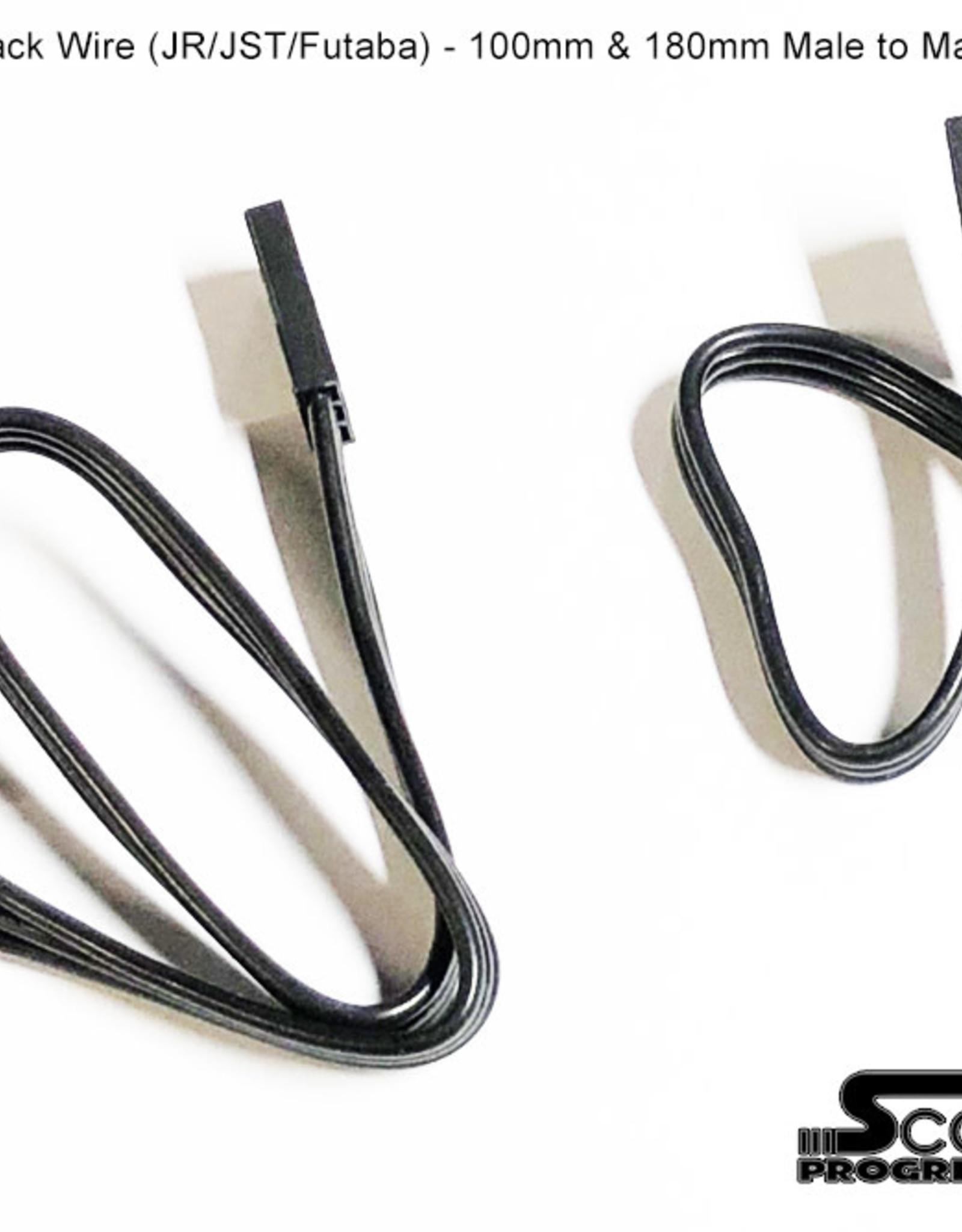 SR700125 ESC Cable 180mm Black by Scale Reflex 700125