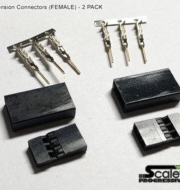 SR700350 Servo/ESC Connetor (Female) by Scale Reflex 700350