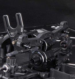 Team DC DC-50714 Aluminum CNC Gear Box for the Yokomo YD-2 (Silver) by Team DC