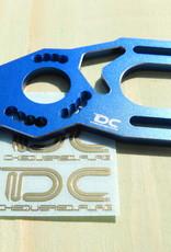 Team DC DC-50693 Aluminum CNC Adjustable High Motor Mount for the Yokomo YD-2 (Blue) by Team DC