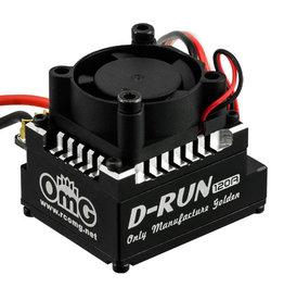 OmG OMGEBS004BK D-RUN 120A ESC (Black) - RC OMG EBS004BK