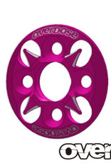 OVERDOSE OD1659 SPUR GEAR SUPPORT PLATE TYPE-4 (PINK) - OVERDOSE OD1659