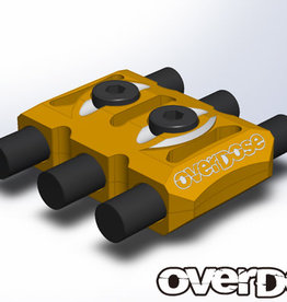 OVERDOSE OD1924 WIRE CLAMP (GOLD) - OVERDOSE OD1924