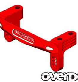 OVERDOSE OD2175 ALUMINUM SERVO MOUNT (XEX) (RED) - OVERDOSE OD2175