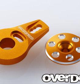 OVERDOSE OD2273 ALUMINUM SERVO SAVER HORN TYPE-2(FOR OD1462 /GOLD) - OVERDOSE OD2273