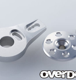 OVERDOSE OD2274 ALUMINUM SERVO SAVER HORN TYPE-2(FOR OD1462 /SILVER) - OVERDOSE OD2274