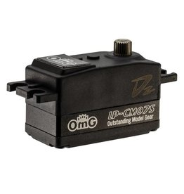 OmG OMGD2-LP-CM07S/BK 7kgf.cm Middle Metal Case High Speed  Coreless Low Profile Digital Servo by OMG