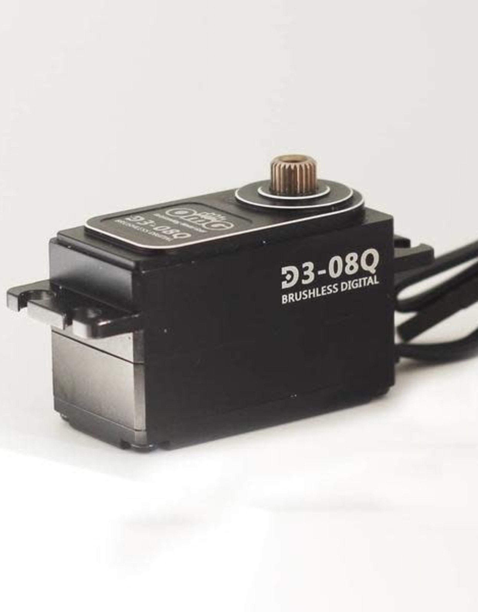 OmG OMGD3-08Q 8kgf.cm D3 Full Metal Low Profile Brushless High Speed Digital Servo by OMG