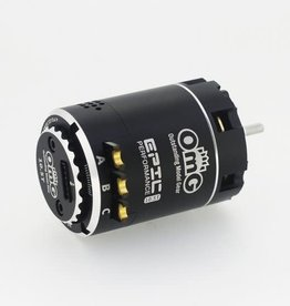 OmG OMGEPIC540-10.5BK EPIC  2 Poles Sensored Brushless Motor by OMG