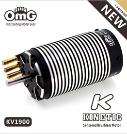 OmG OMGkinetic-4274-1900KV Kinetic 1:8 Offroad Brushless Motor (1900 kv) - RCOMG kinetic-4274-1900KV