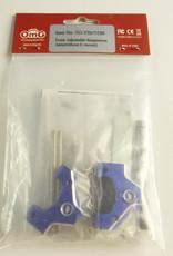 OmG OMGTG-YB07-DB Front Adjustable Suspension Arm (Dark Blue) - RCOMG TG-YB07-DB