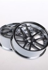 Speedline SL289C8 - LX 10-Spokes Narrow RWD wheels (2) offset-9 52x20mm Chrome - Speedline