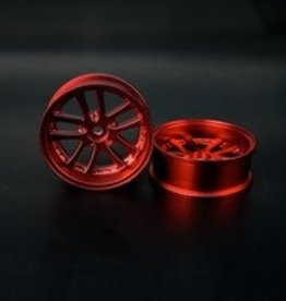 Speedline SL289R8 - LX 10-Spokes Narrow RWD wheels (2) offset-9 52x20mm Chrome Red - Speedline