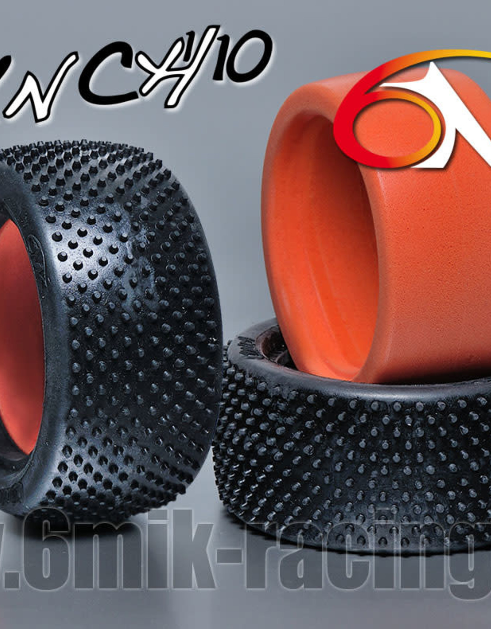 6MIK Crunch 2.2 1/10 Rear Buggy