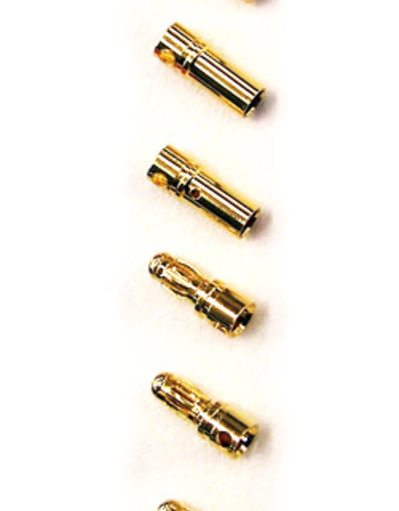 Common Sense Rc Bullet Connectors - 3.5mm - (3)