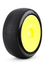 James Racing James Defenders 1/8 Buggy Tire Pre-glued (Super Soft) 4