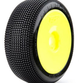 James Racing James Defenders 1/8 Buggy Tire Pre-glued (Super Soft) 4