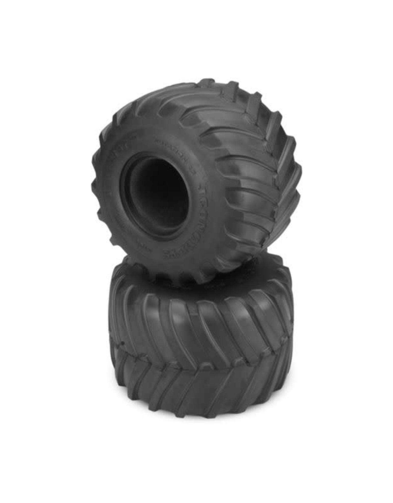 JConcepts Image for Firestorm Monster Truck Tire, Blue Compound