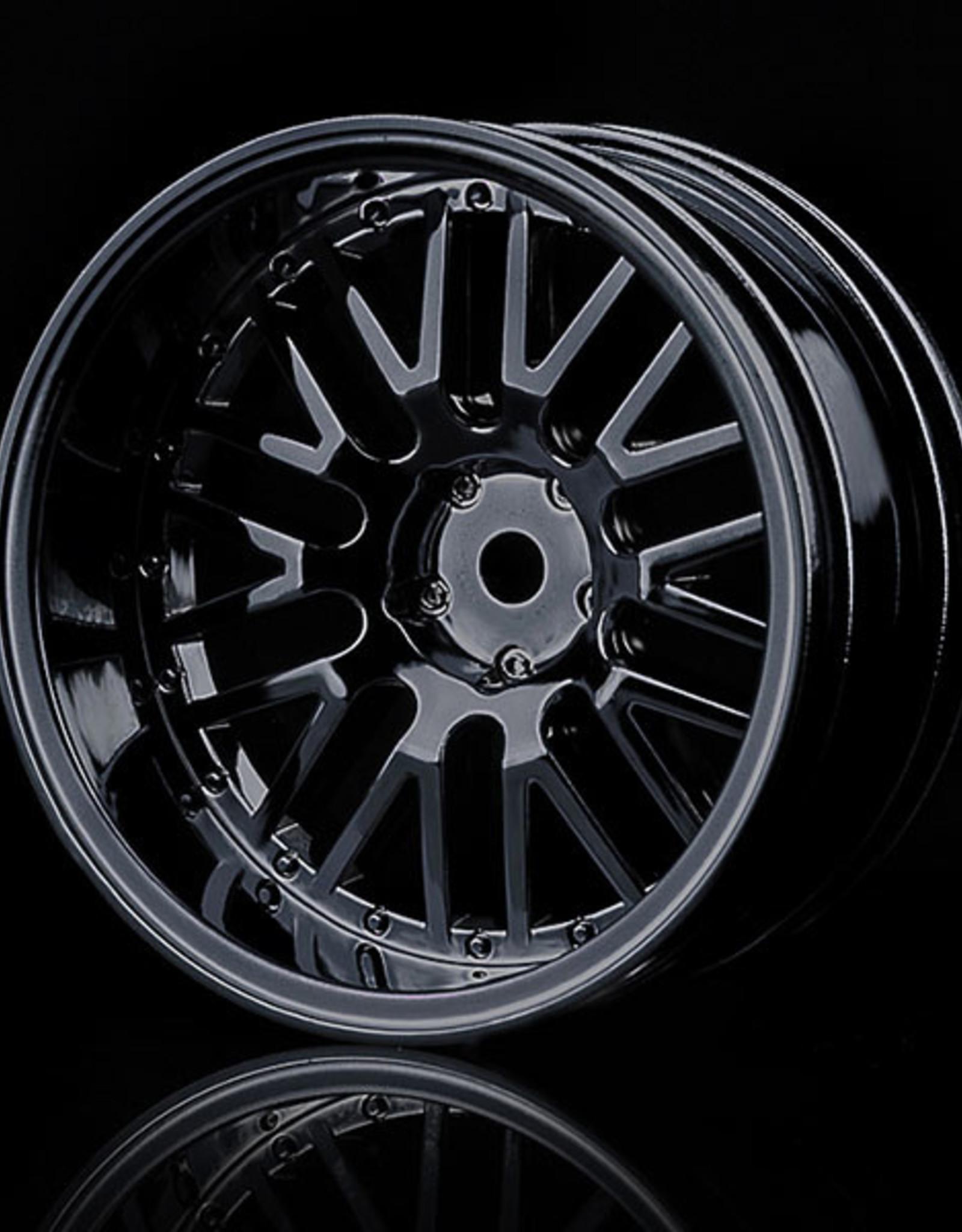MST 10 Spoke Wheel (4pcs) by MST Black 11mm