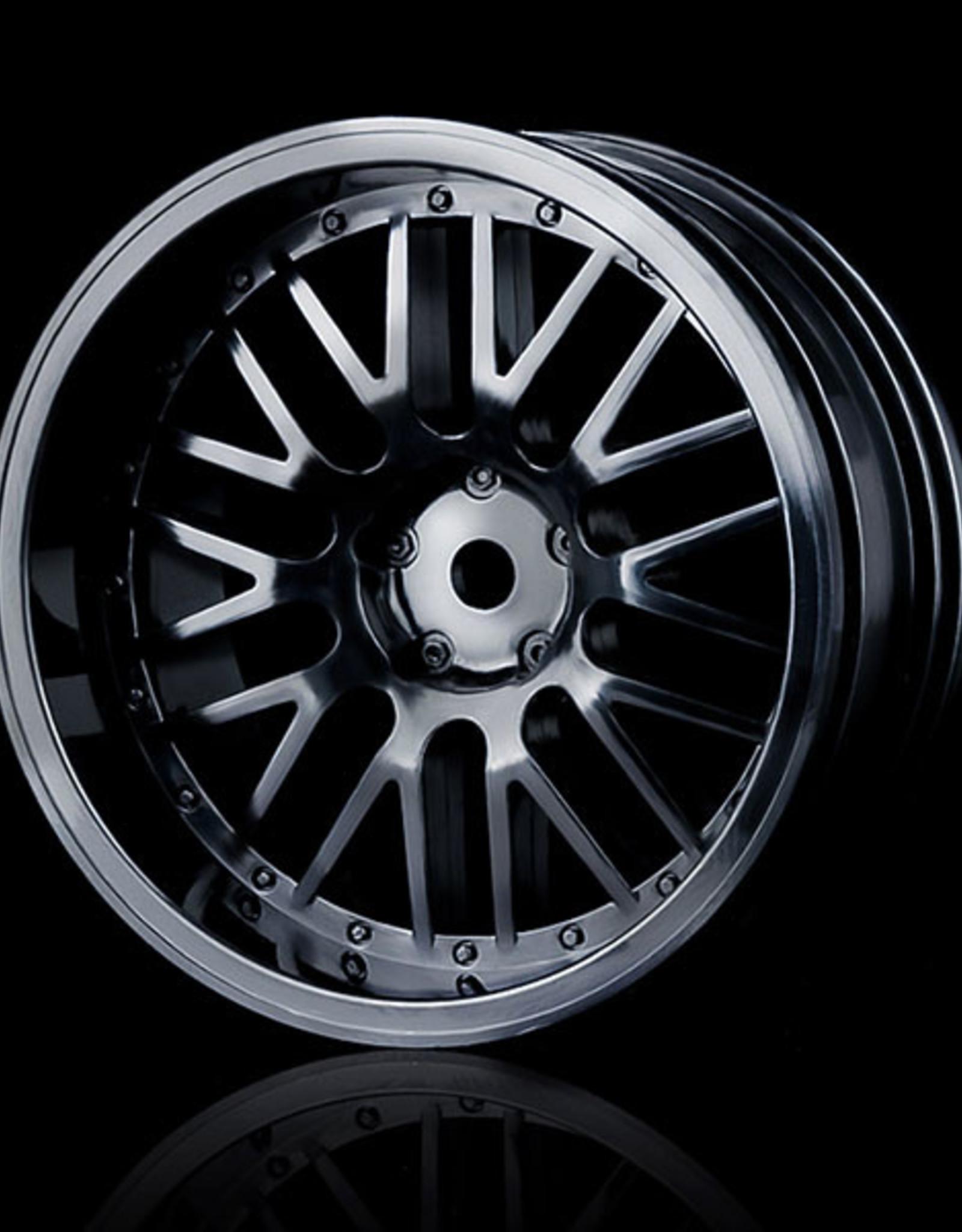 MST 10 Spoke Wheel (4pcs) by MST Black 8mm