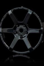 MST 106 Changeable Wheel Face (2pcs.) by MST Black