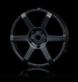 MST 106 Changeable Wheel Face (2pcs.) by MST Flat Black
