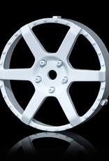 MST 106 Changeable Wheel Face (2pcs.) by MST White