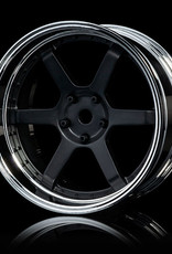 MST 106 Offset Changeable Wheel (4pcs.) by MST S-FBK