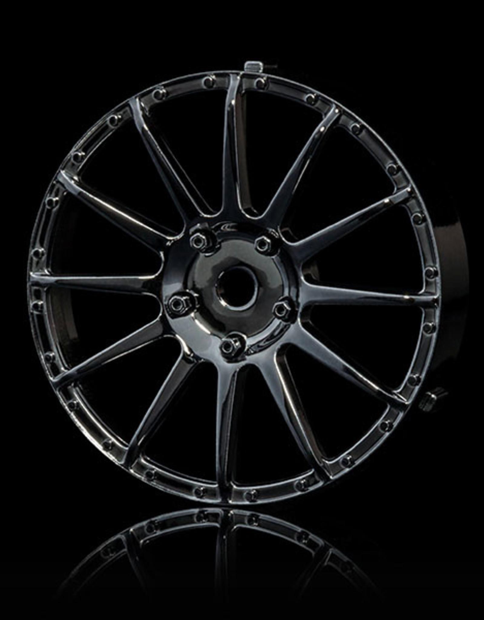 MST 21 Changeable Wheel Face (2pcs.) by MST Silver Black