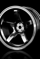 MST 5 Spoke Wheel by MST Black 8mm