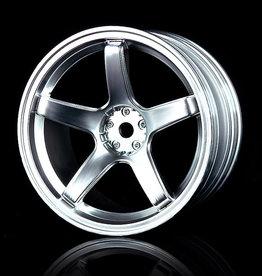 MST 5 Spoke Wheel by MST Flat Silver 5mm
