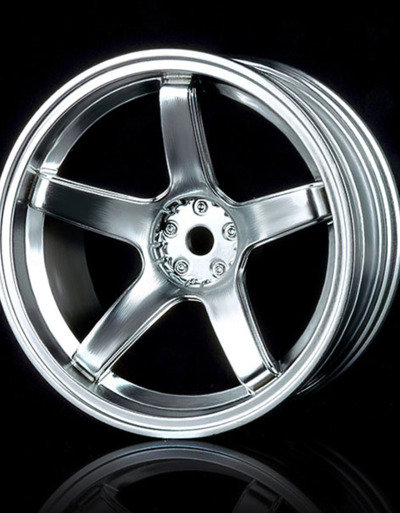 MST 5 Spoke Wheel by MST Flat Silver 8mm