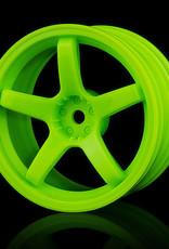 MST 5 Spoke Wheel by MST Green 3mm