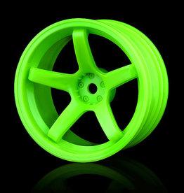 MST 5 Spoke Wheel by MST Green 8mm