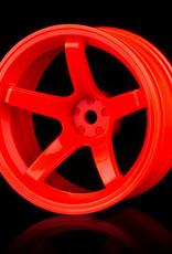 MST 5 Spoke Wheel by MST Orange 11mm