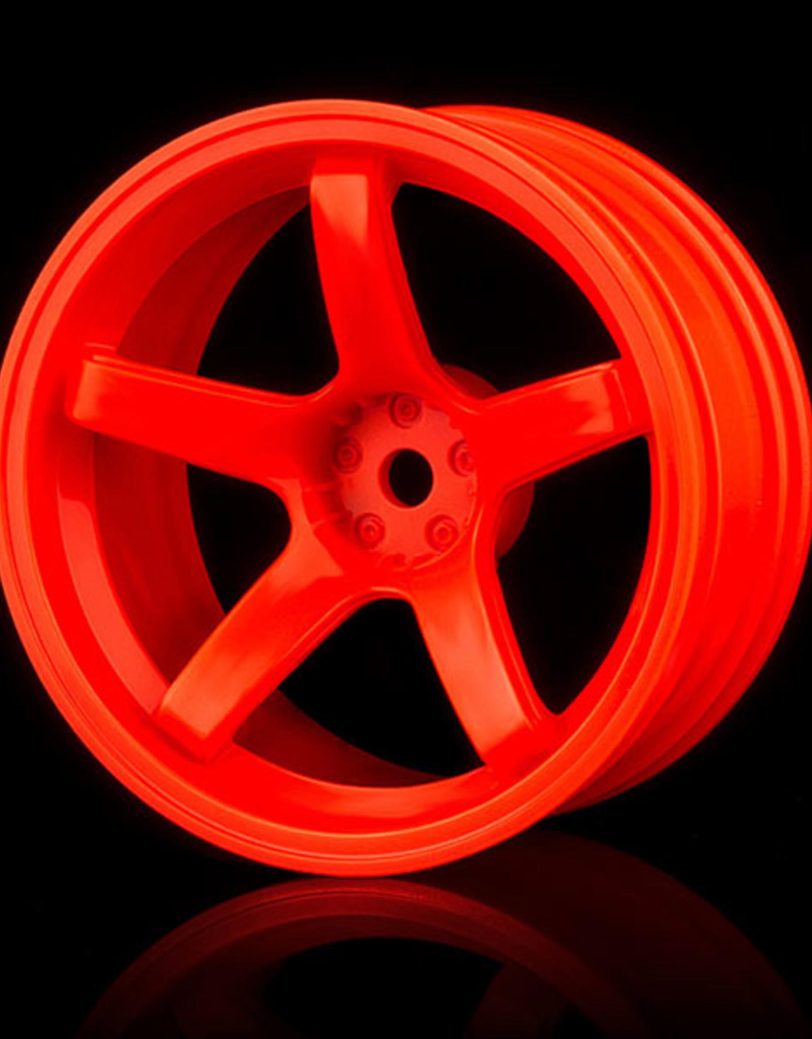 MST 5 Spoke Wheel by MST Orange 8mm