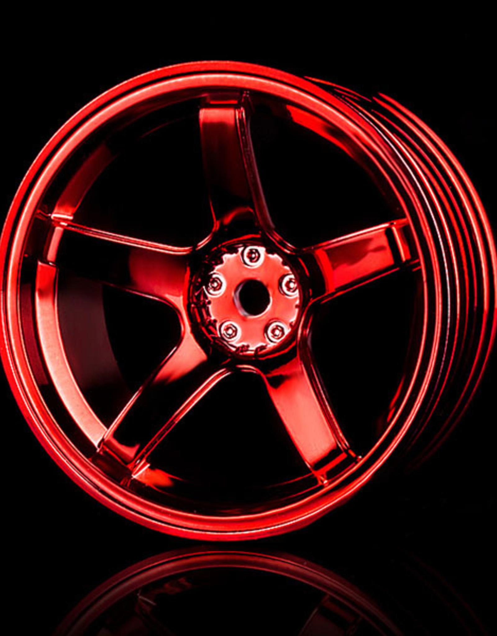 MST 5 Spoke Wheel by MST Red 8mm