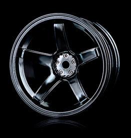 MST 5 Spoke Wheel by MST Silver Black 8mm