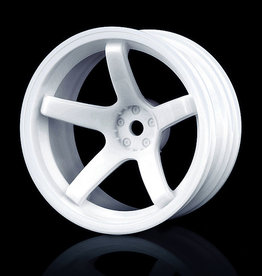 MST 5 Spoke Wheel by MST White 11mm