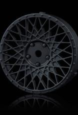 MST 501 Changeable Wheel Face (2pcs.) by MST Flat Black