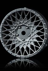 MST 501 Changeable Wheel Face (2pcs.) by MST Flat Silver