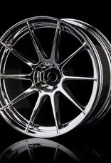 MST 5H Drift Wheel (4pcs) - MST Silver 7mm