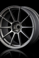 MST 5H Drift Wheel (4pcs) - MST Silver Grey 7mm