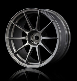 MST 5H Drift Wheel (4pcs) - MST Silver Grey 7mm