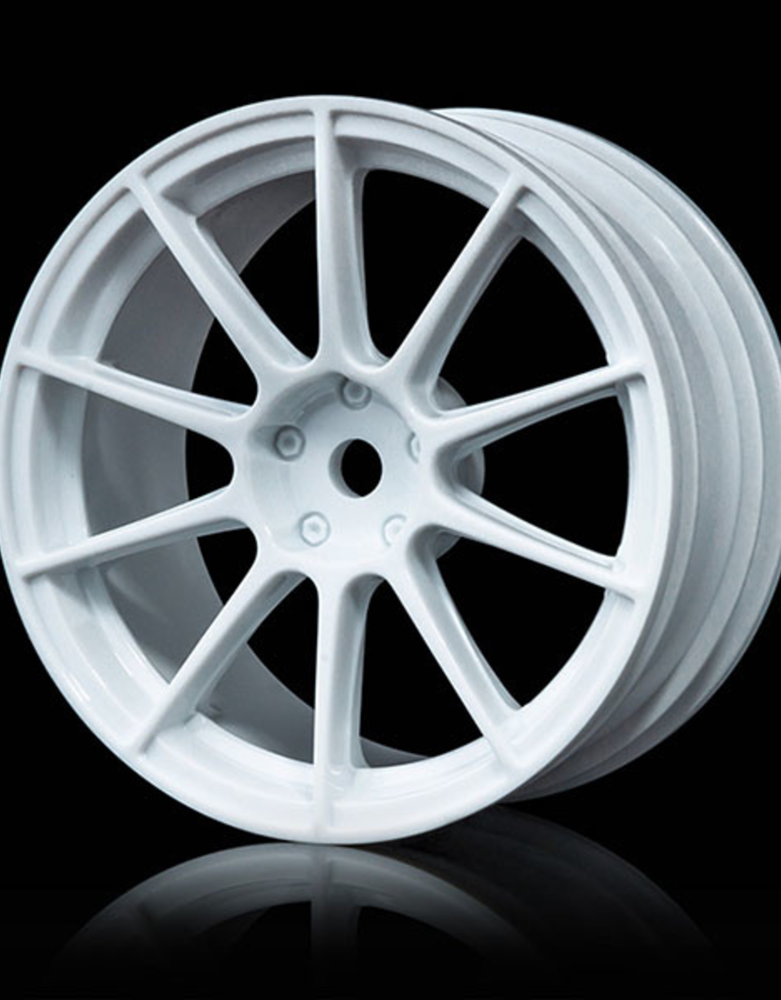 MST 5H Drift Wheel (4pcs) - MST White 1mm
