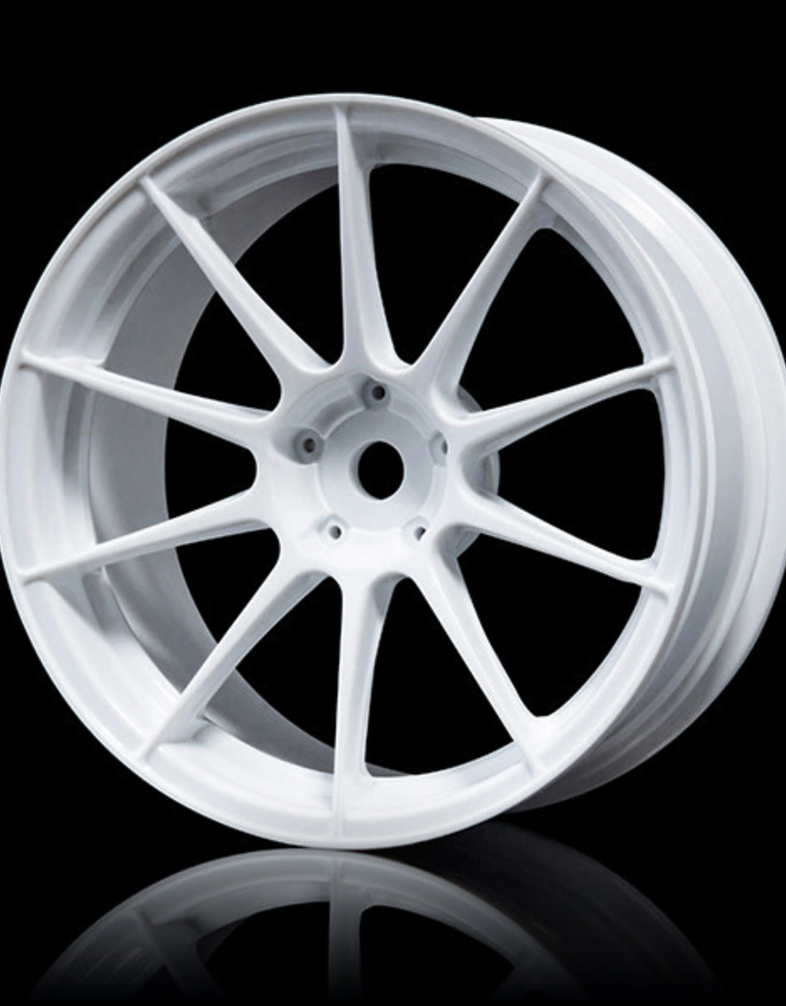 MST 5H Drift Wheel (4pcs) - MST White 3mm