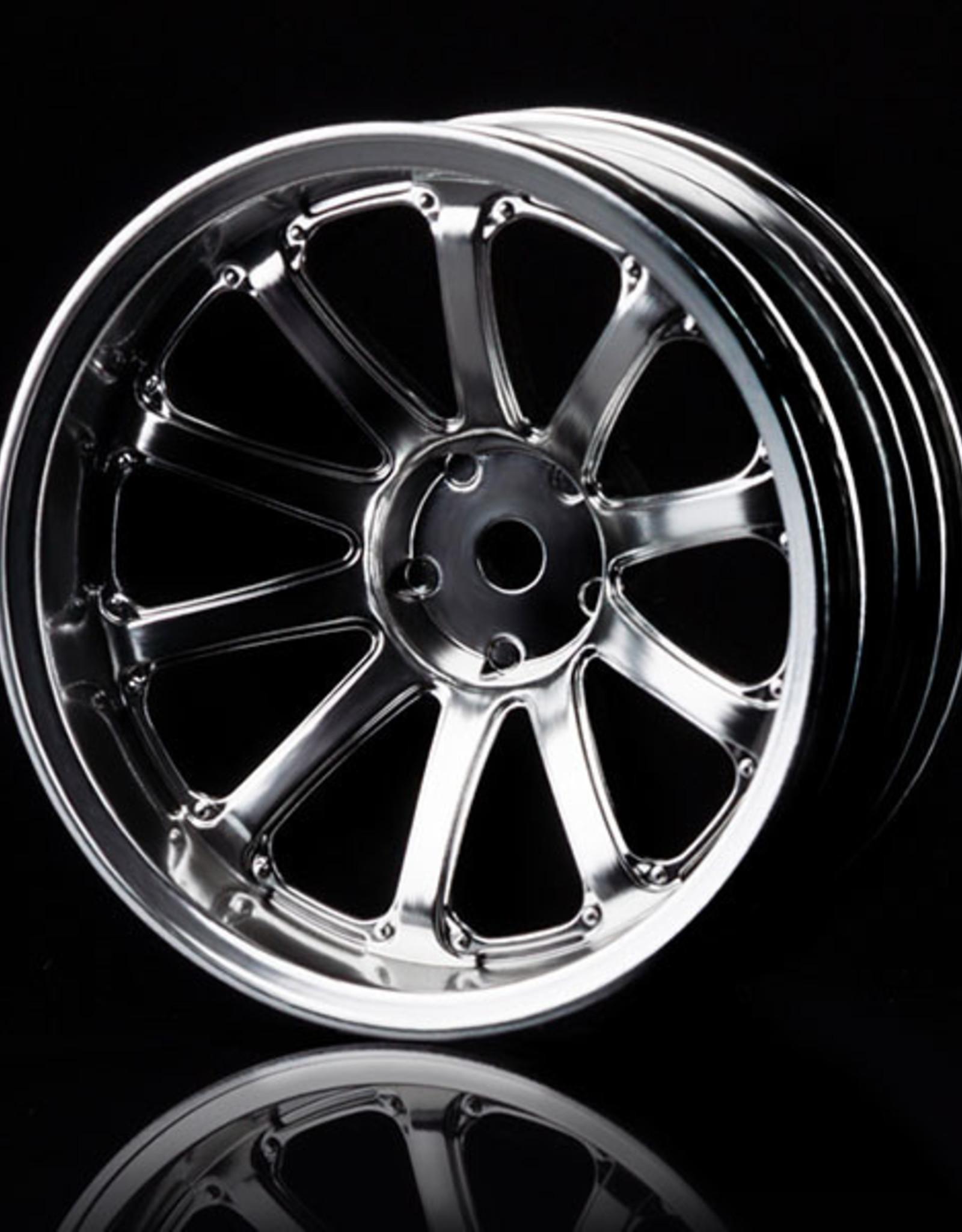 MST 77SV Wheel (4pcs) by MST Flat Silver 11mm